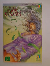 Blood Sword Dynasty MA Wing Shing T Wong Wan #15 Jademan Comics November 1990 NM