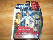 Star Wars Obi Wan Kenobi Action Figure Crappling Hook Launcher Battle Card Die