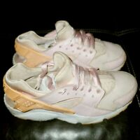Nike Huarache Run SE GS Pink Running Shoes 904538-600 Youth size 6.5y