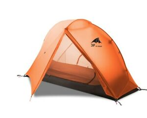 Light Waterproof 1 Person One Man Hiking Tent Trekking Camping Dome 4 Season