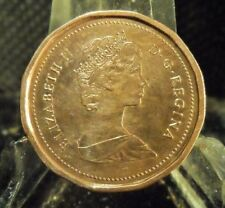 CIRCULATED 1987 1 CENT CANADIAN COIN (20319)2.....FREE DOMESTIC SHIPPING
