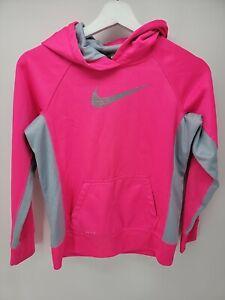 Kids Nike Therma Fit Hoodie Size L Pink