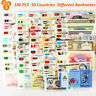 100 PCS 50 Countries collection Currency World  Banknotes UNC set Paper Money