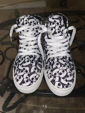 Nightmare Before Christmas Disney Hightop Shoes Jack  Skellington Size 6