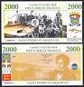 ★★★ SAINT PIERRE ET MIQUELON : BILLET TEST POLYMER 2000 FRANCS ★★★