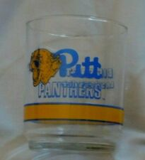 Pitt Panthers Big East Basketball Getty Vintage Drinking 4'' Glass