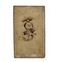 Post Mortem Photograph, Victorian Mourning, Antique CDV