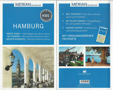 Hamburg - WIE NEU - Merian momente - Mit Extra-Karte zum Herausnehmen