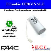 63002795 FAAC CONDENSATORE 18MF PER MOTORE 844