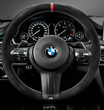 BMW OEM F15 X5 14+ F16 X6 15+ M Performance Alcantara & Carbon Steering Wheel II