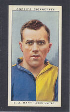 Ogdens - Football Club Captains 1936 # 13 Hart - Leeds