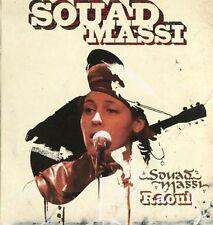 """Souad MASSI """"Raoui"""" (CD Digipack) 2001"""