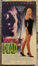Vhs Shock'em Dead Traci Lords R Vguc Tested 1991 Cult Plays Great Case Is G-Vg