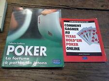 Poker la fortune à portée de jetons + Comment gagner au texas hold'em  online