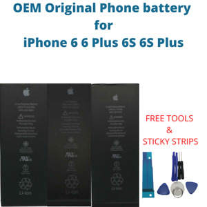 OEM Original Battery For iPhone 6 6 Plus 6S 6S Plus Genuine Replacement Battery