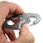 Mountain Camping Buckle Tool Aluminum Climbing 8-shaped Carabiner Clip Snap Hook