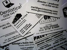 1000 Printed Plastic Business Cards