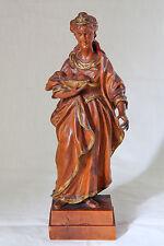 statua legno bosso S.AGATA V.M. DI CATANIA epoca 1700