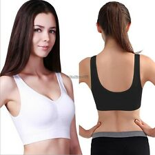 Ladies Seamless Shape Wear Comfort Bra  Detail Support  Sports Vest Yoga A++++++