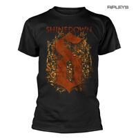 Official T Shirt SHINEDOWN Attention Attention 'Overgrown' Leaves Logo All Sizes