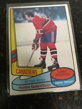 O-PEE-CHEE HOCKEY 1980 LARRY ROBINSON ALL STAR CARD 84 MONTREAL CANADIENS