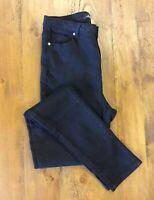 Toxik3 Ladies Black Stretch Jeans Size Uk 12