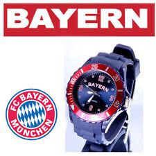 Bayern Armbanduhr + FC Bayern München Bierdeckel Neu  W1