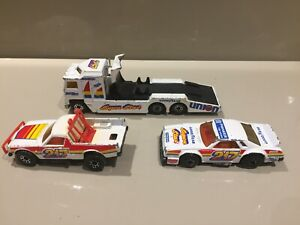 Matchbox Racing Team Kenworth Pro Stocker Ruff Trek Set Bundle 1980's