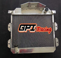 FOR Austin Healey 100-4 1953-1956 1955 MT Aluminum Radiator 3 Row 62mm GPI