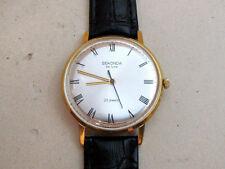 SEKONDA de LUXE gold plated Au20 ULTRA THIN USSR vintage men's mechanical watch