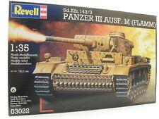 Revell 03022  ·  Sd.Kfz.142/3 Panzer III Ausf. M (Flamm)  · 1:35