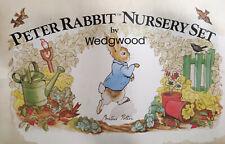 4 Piece Nursery Set Peter Rabbit Beatrix Potter by Wedgwood