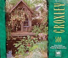 """500pc Puzzle """"Secret Hideaway"""" 13.9""""x 19.9"""" Sealed By Milton Bradley - Croxley"""
