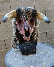 Bull Mask Pagan Witchcraft decay