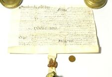 More details for elizabeth i 17thc latin vellum sealed grant document unidentified  #t142c