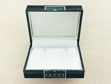 VINTAGE LEATHER EARRING JEWELLERY JEWELRY BOX GUCCI
