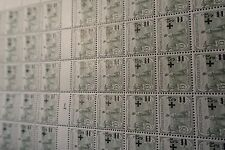 FEUILLE SHEET SELLO ORPHELINS Nº164 x50 MILLÉSIME 7 1927 NEUF LUXE MNH