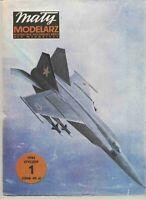 GENUINE PAPER-CARD MODEL KIT -Fighter MIG-25