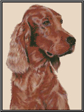 Irish Setter Dog Counted Cross Stitch Chart No.16-149