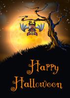 """""""VAMPIR-FLEDERMAUS"""": Gruseliges Einladungskarten-Set für Halloween etc."""