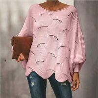Loose Casual Women's Blouse Knitted T-shirt Knitted sweater Tops Long Sleeve