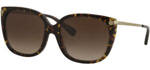Coach Women's Dark Tortoise Oversize Soft Square Sunglasses - HC8272F 512013