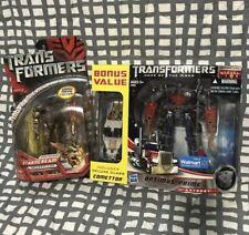 Transformers Movie DOTM Bonus StarScream Optimus Prime Walmart Leader Lot G1 🤖