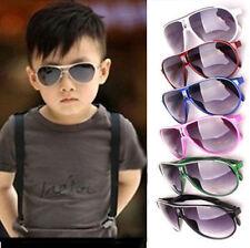 UV400 Protección Gafas De Sol Para Niños Infantil Moda Modelo Multi Color