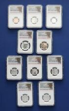 U.S. 2018 San Francisco Mint Silver Reverse Proof Set NGC PF70 First Releases
