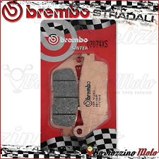 PLAQUETTES FREIN ARRIERE BREMBO FRITTE 07074XS BMW C SPORT 600 2014 2015