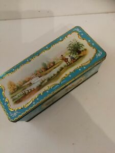 Vintage jacobs cracker tin