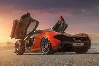 Iconic Arts Laminated 36x24 Poster: McLaren P1