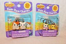 New In Box Set Of 2 Hamtaro Ham Ham Charms