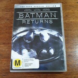 Batman Returns DVD Michael Keaton R4 LIKE NEW FREE POST Special Edition